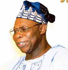 Former Nigerian President Obasanjo.