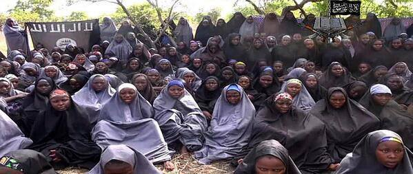 Picture of abducted chiboko school girls