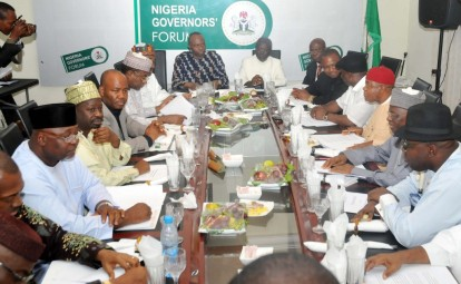 Nigerian Governors forum Meeting