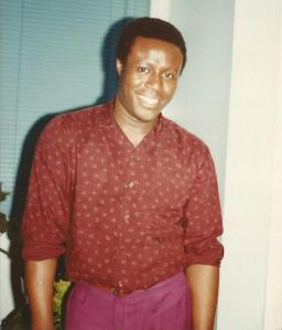Late Udo Udo Okure (College Years)