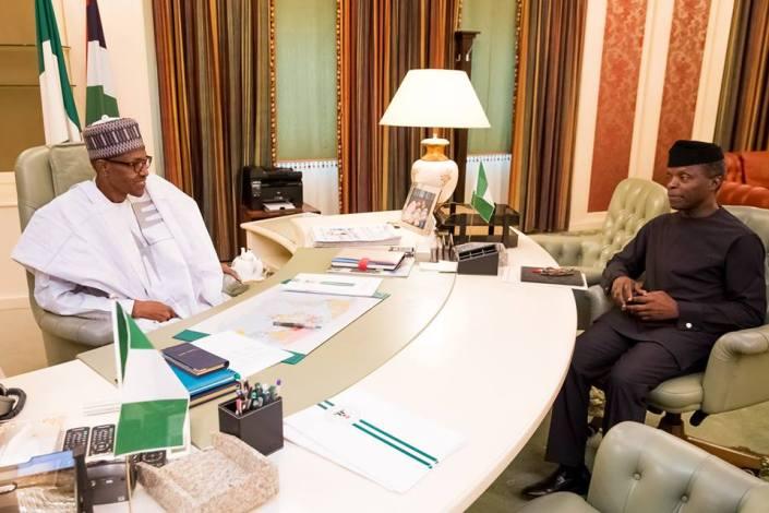 9JA President Buhari_Resumes Work