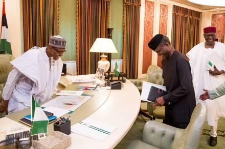 9JA President Buhari_Resumes Work_2